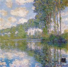 Monet. Poplars at the Epte