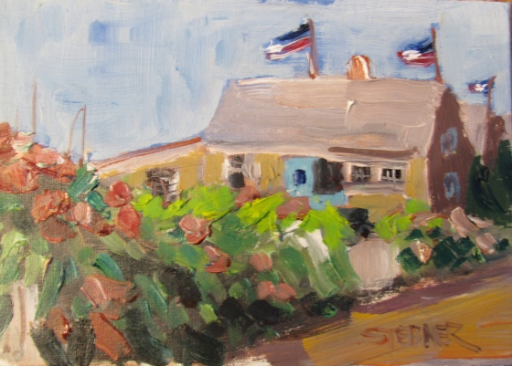Three Cottages, Three Flags: Nantucket