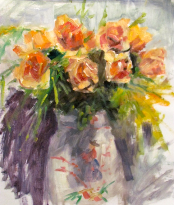 Winter Roses. Study for the afternoon.