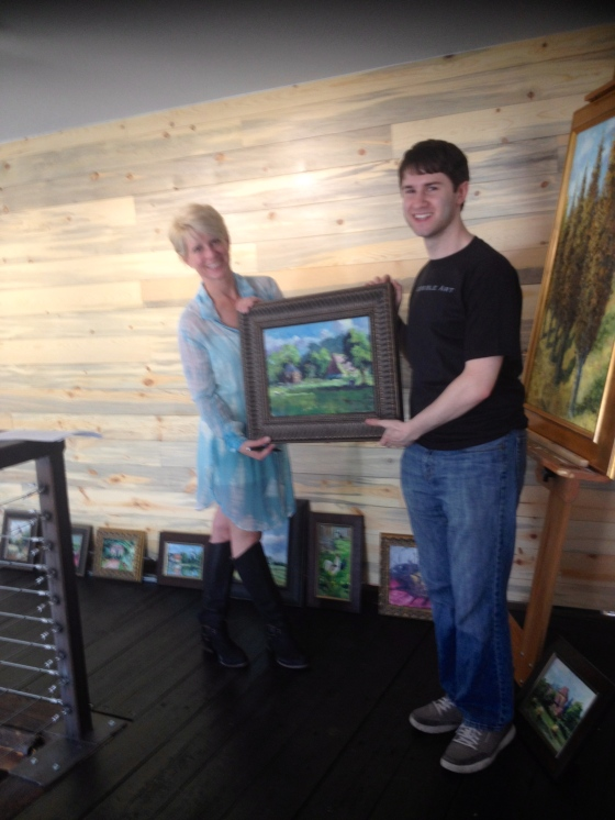 10 Stebner's are on exhibit at Chentini Gallery in Hudson Ohio this summer.
