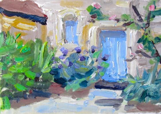 Dooryard. Stebner. 5x7