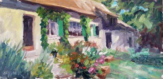 "10x20 Stebner painting. ""Morning Sun"""